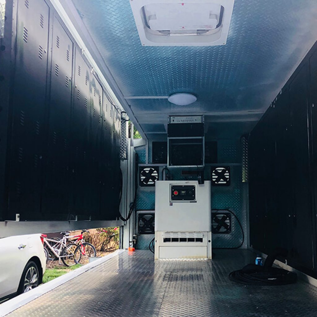 Building Phases of a Mobile Billboard Truck - Nomadic LED